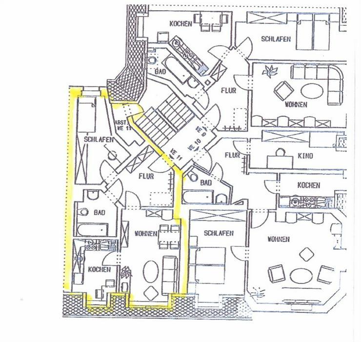 Bild 3: KAPITALANLAGE - gut aufgeteilte 2 Zimmer Eigentumswohnung im Dachgeschoss zu verkaufen