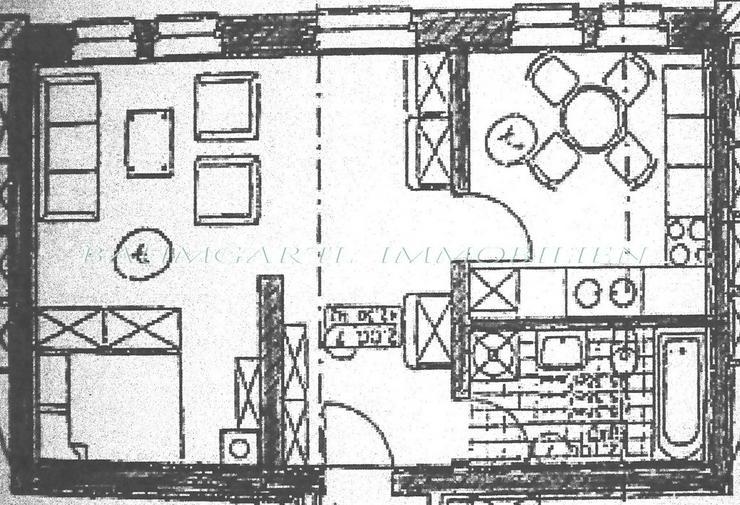 Bild 3: KAPITALANLAGE - gut aufgeteilte 1 Zimmerwohnung mit separater Küche zu verkaufen