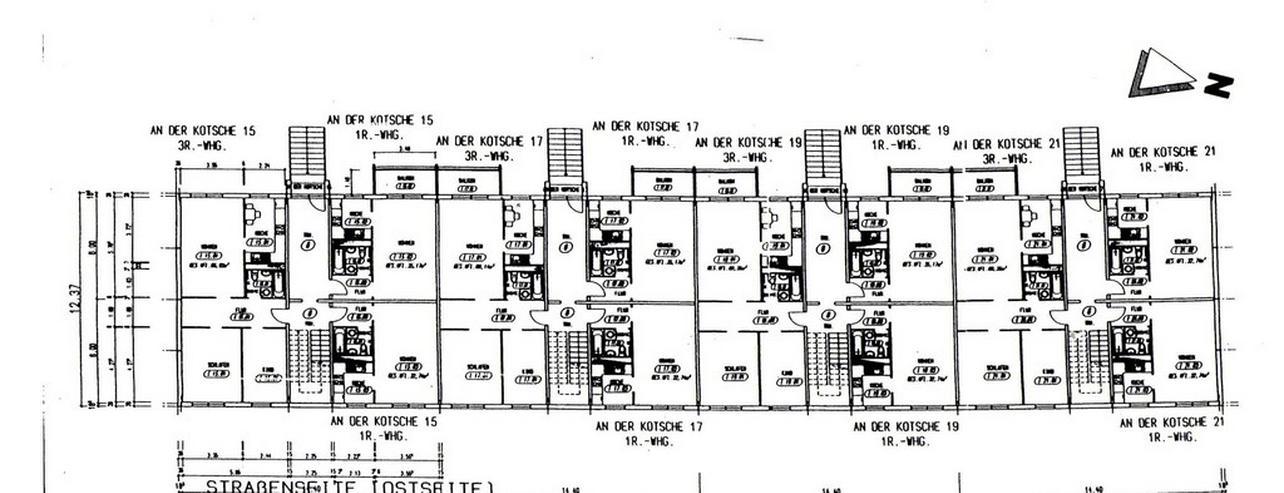 Bild 9: KAPITALANLAGE - 1 Raum-Wohnnung in einem modernisierten Wohnblock in Leipzig