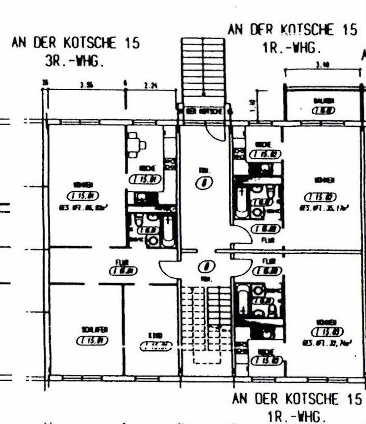 Bild 7: KAPITALANLAGE - 1 Raum-Wohnnung in einem modernisierten Wohnblock in Leipzig