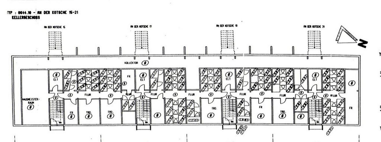 Bild 10: KAPITALANLAGE - 1 Raum-Wohnnung in einem modernisierten Wohnblock in Leipzig