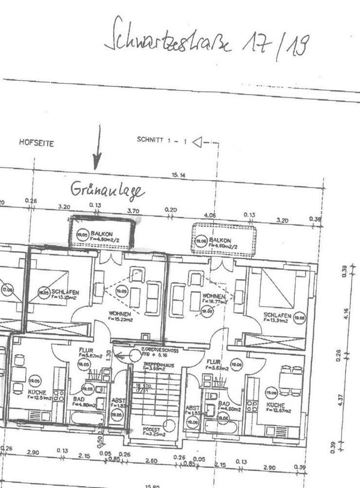 Bild 4: KAPITALANLAGE - schicke kleine 2 Zimmerwohnung in ruhiger Lage von Leipzig zu verkaufen