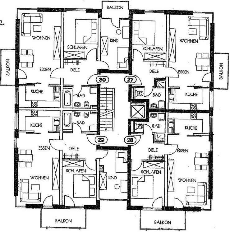 Bild 3: KAPITALANLAGE in FLÖHA - in einer TOP Wohnanlage eine Erdgeschosswohnung mit Terrasse