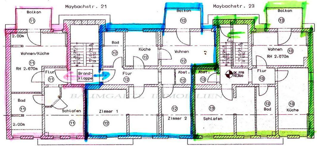 Bild 5: KAPITALANLAGE - in Delitzsch eine gemütiche und schicke 2 Zimmerwohnung im Dachgeschoss