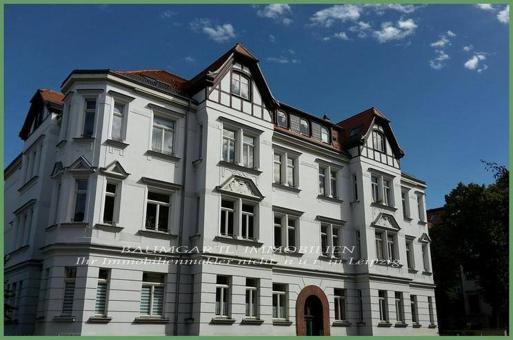 KAPITALANLAGE - in einem gepflegten Wohnhaus in Leipzig-Lindenau 2 Raumwohnung im Erdgesch... - Bild 1