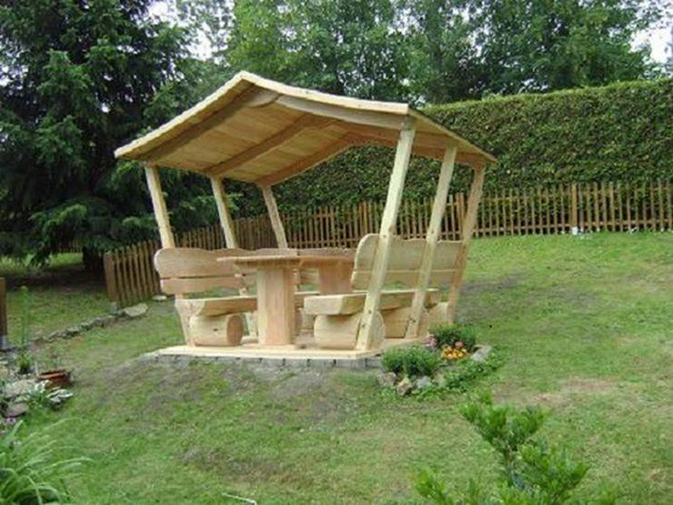 Gartenlaube rosenbank sitzbank holz in steyerberg auf - Holz gartenlaube ...