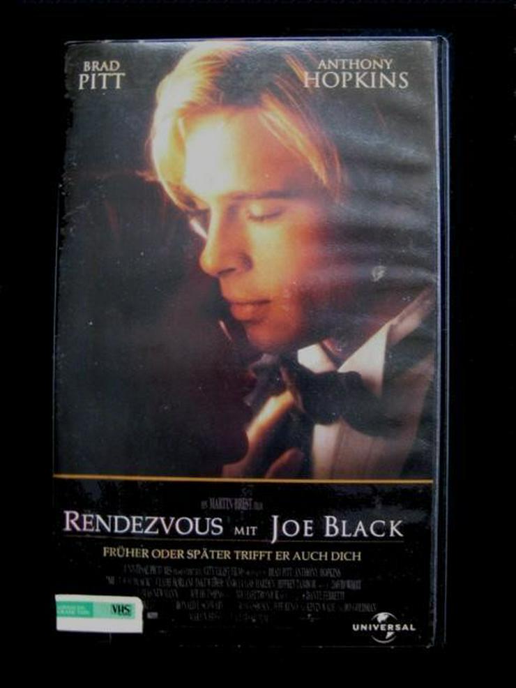 Brad Pitt - Film - Rendezvous mit Joe Black - - VHS-Kassetten - Bild 1