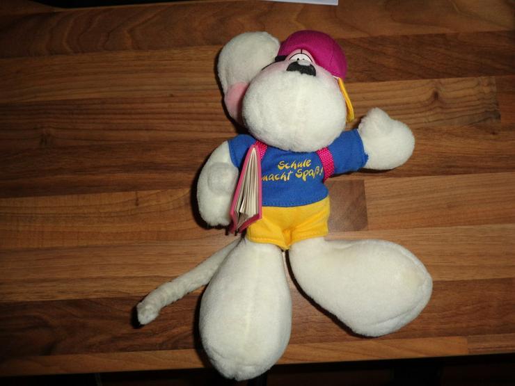 Diddl Maus Schüler mit Schultasche - Teddybären & Kuscheltiere - Bild 1