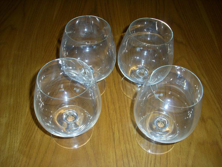 4 Cocktail-Gläser