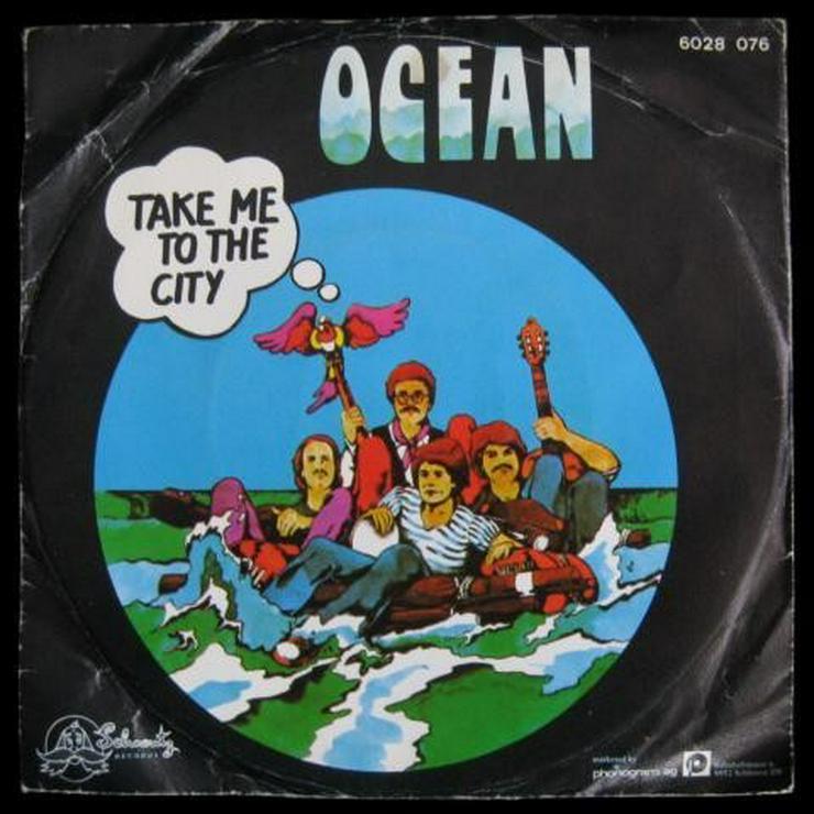 Ocean - Take me to the City - Single, Vinyl -