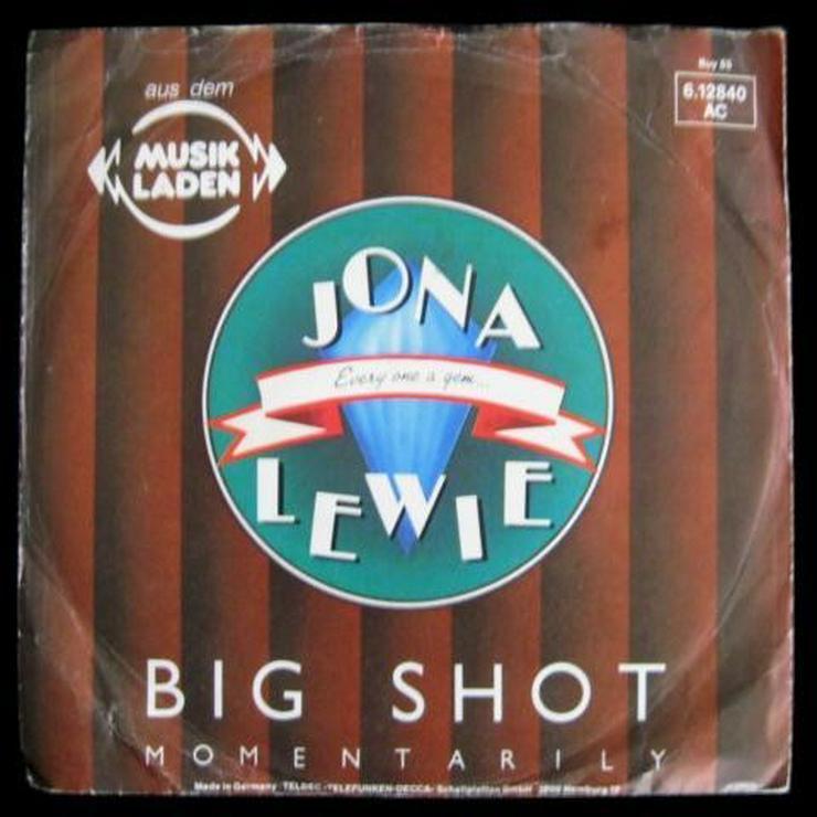 Jona Lewie - Big Shot - Single, Vinyl -