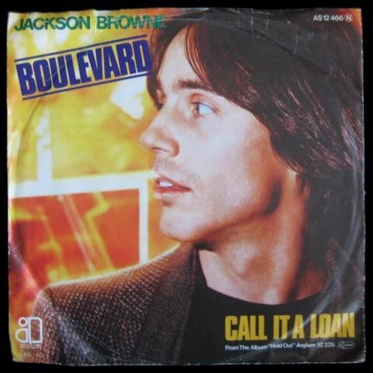 Jackson Browne - Boulevard - Single, Vinyl -