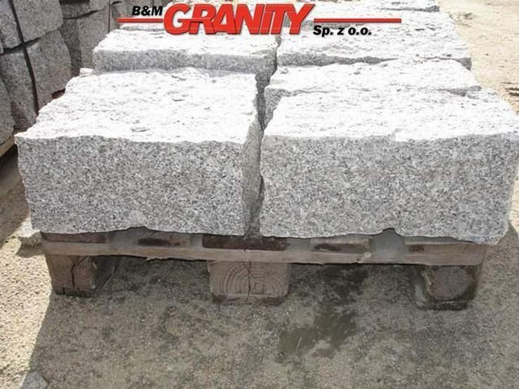 Bild 4: Pflastersteine Natursteinen Granit