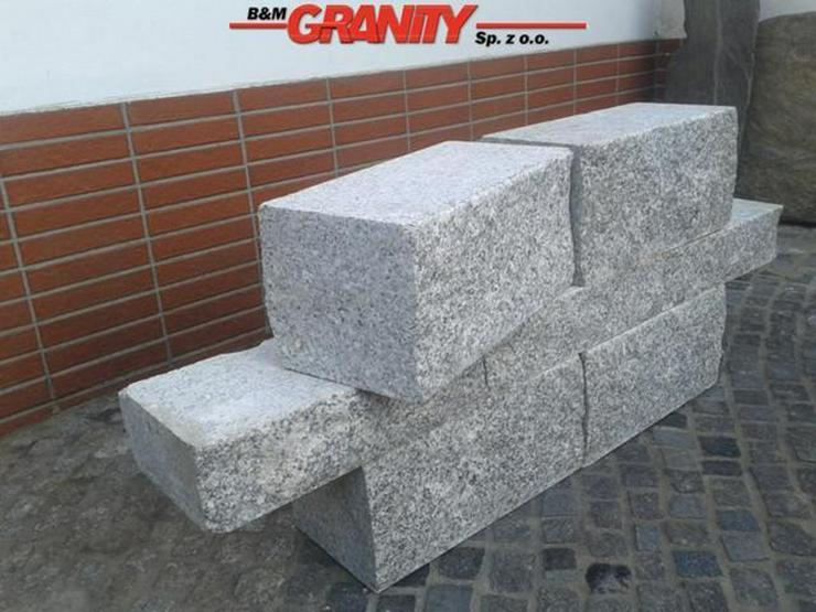 Bild 6: Pflastersteine Natursteinen Granit