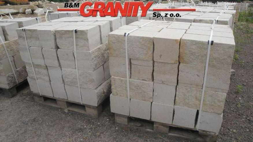 Bild 2: Pflastersteine Natursteinen Granit
