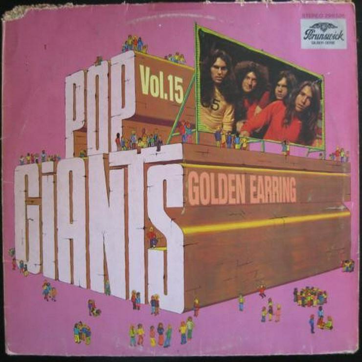 Golden Earring -Pop Giants Vol. 15- LP, Vinyl