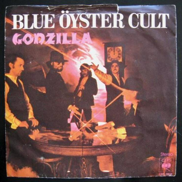 Blue Öyster Cult - Godzilla - Single, Vinyl -