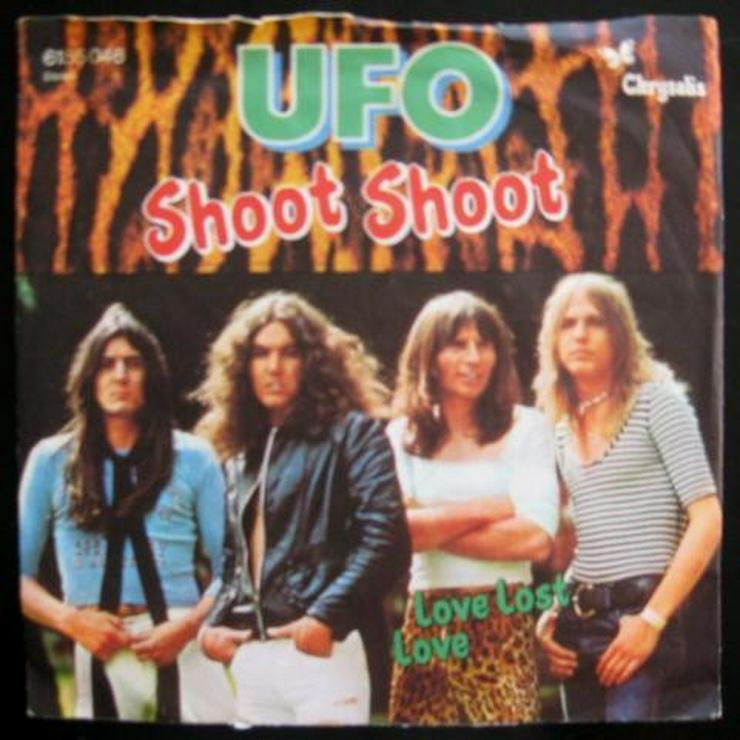 UFO - Shoot Shoot - Single, Vinyl -