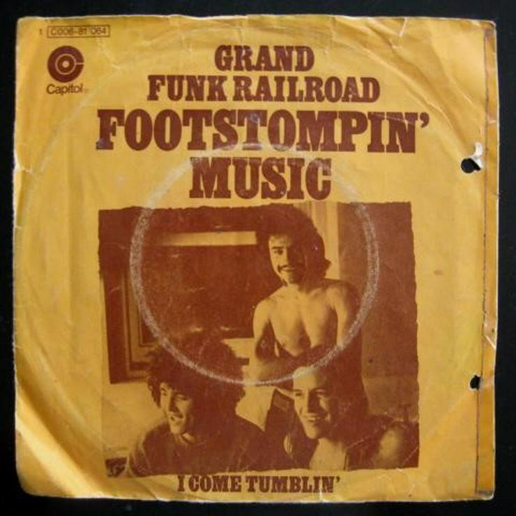 Grand Funk Railroad - Footstompin' Music -
