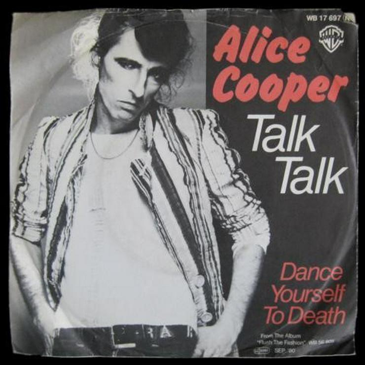 Alice Cooper - Talk Talk - Single, Vinyl -