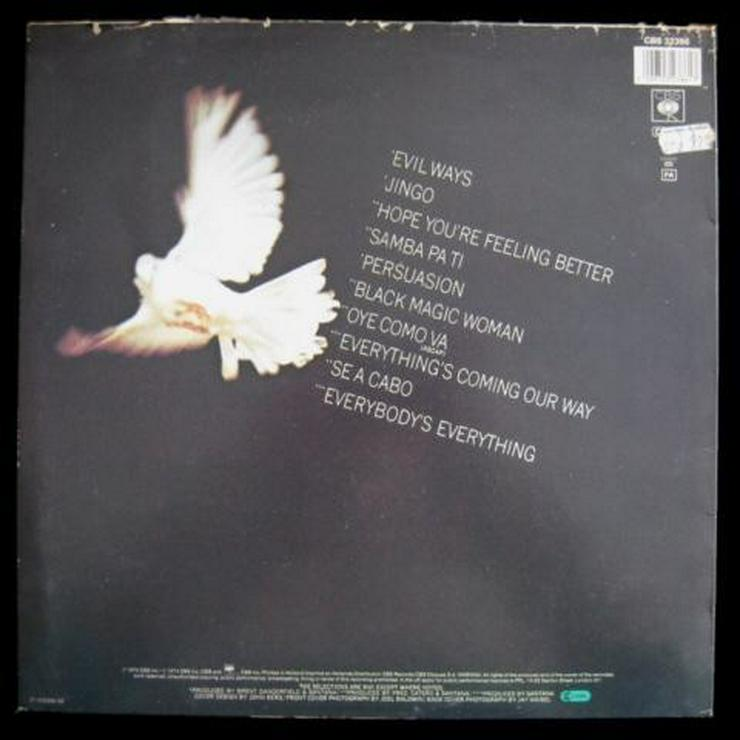 Bild 2: Santana - Santana's Greatest Hits - LP, Vinyl -