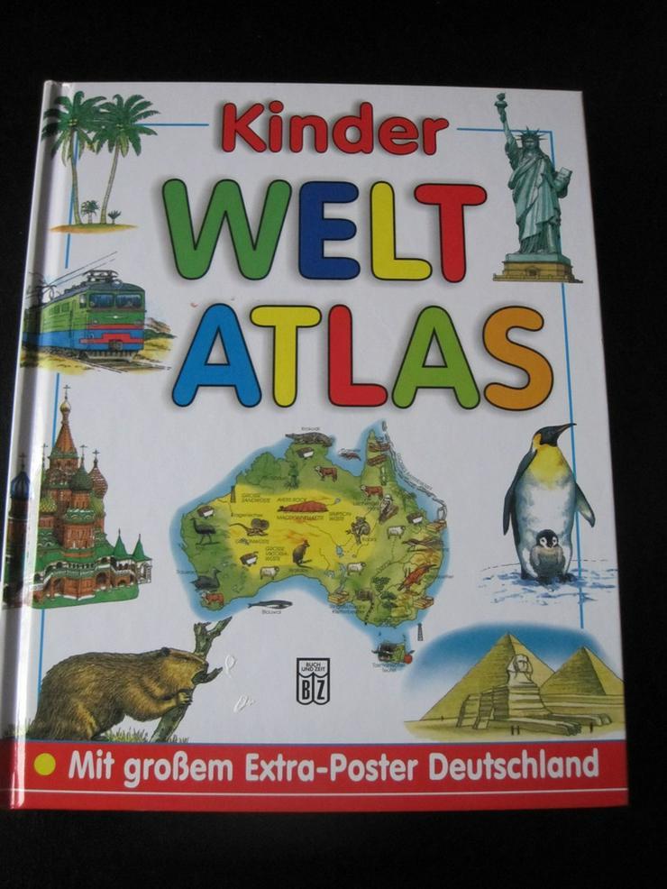 Kinder Welt Atlas Gebundene Ausgabe
