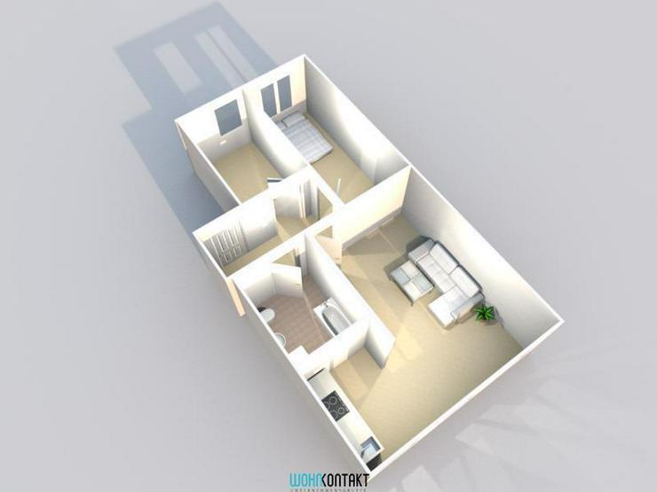 Bild 2: Für junge Paare! - Kleine 3-Zimmerwohnung in Lindenau!