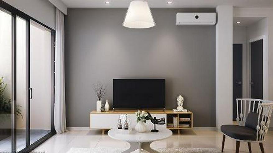 Bild 4: Moderne Obergeschoss-Wohnungen mit Gemeinschaftspool in Strandnähe