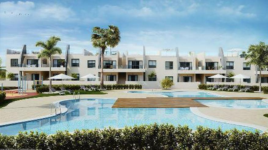 Moderne Obergeschoss-Wohnungen mit Gemeinschaftspool in Strandnähe - Wohnung kaufen - Bild 1