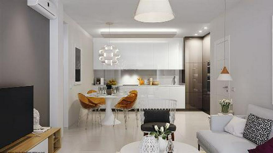 Bild 5: Moderne Obergeschoss-Wohnungen mit Gemeinschaftspool in Strandnähe