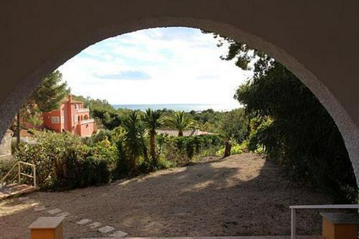 Villa mit traumhaftem Meerblick in sehr schöner Lage bei Altea