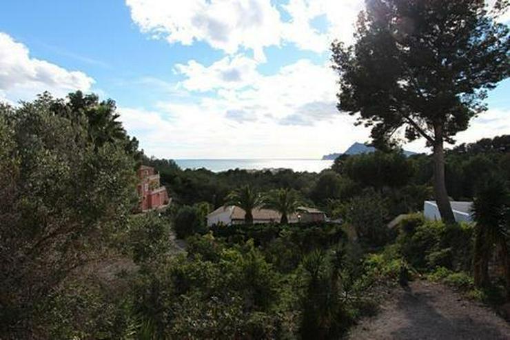 Bild 2: Villa mit traumhaftem Meerblick in sehr schöner Lage bei Altea