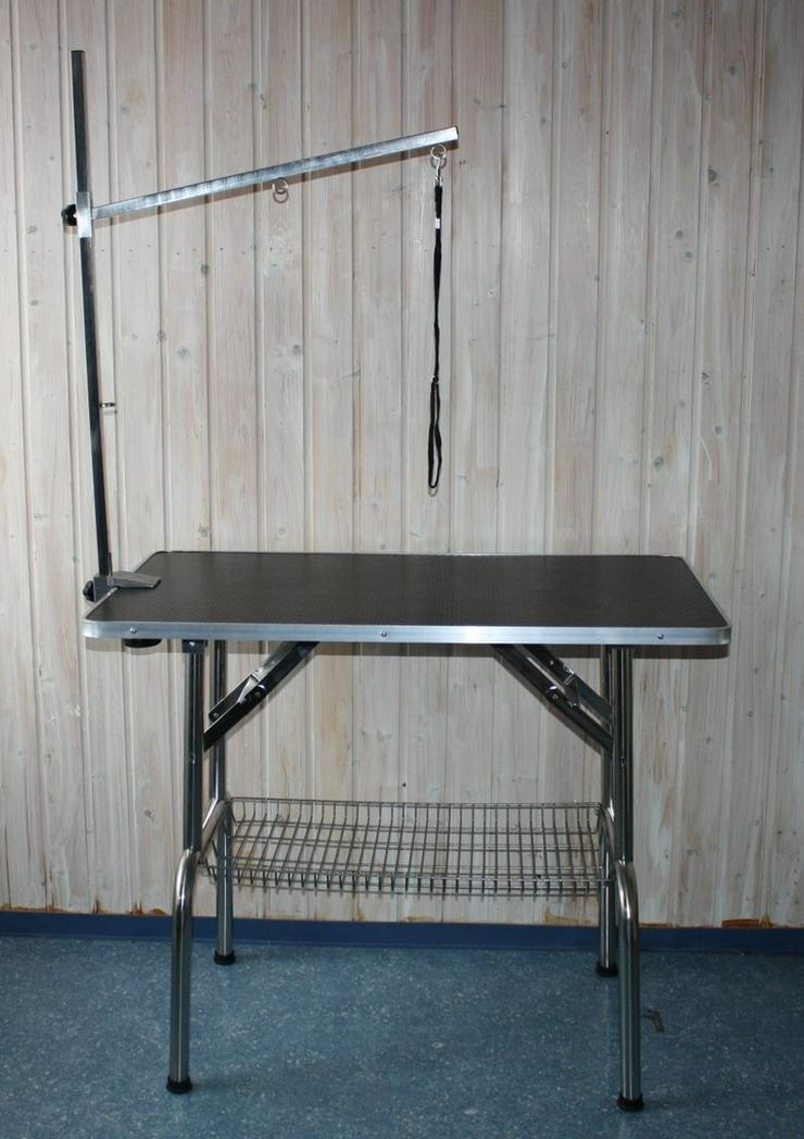 trimmtisch schertisch hund 95 x 55 cm h he in pottenstein waidach bayern auf. Black Bedroom Furniture Sets. Home Design Ideas