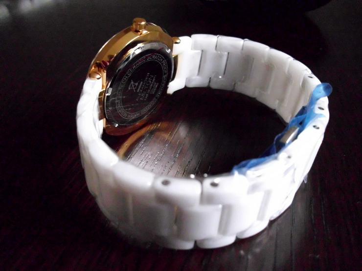 Bild 2: Keramik-Armbanduhr  weiß  ALEXANDER MILTON