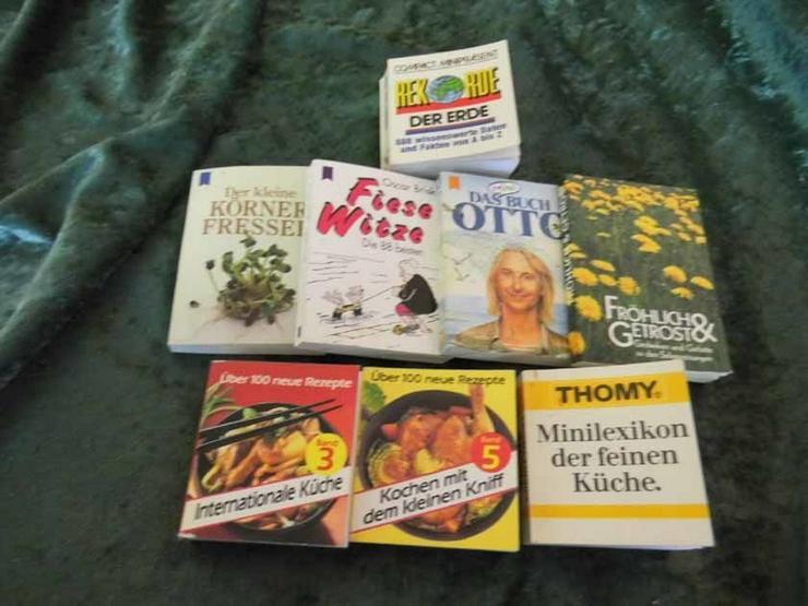 Bild 2: 6 Minibücher unterschiedlicher Kategorien / Bü