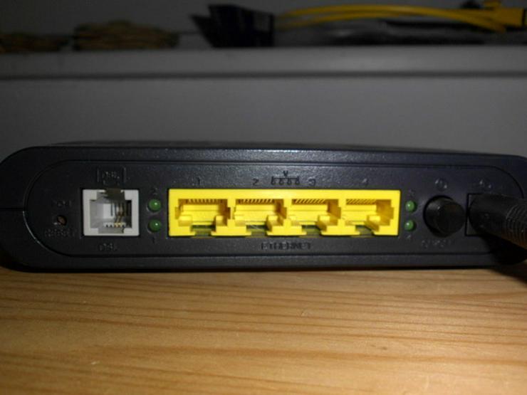 Bild 3: Speedtouch DSL Router