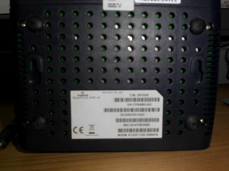 Bild 6: Speedtouch DSL Router