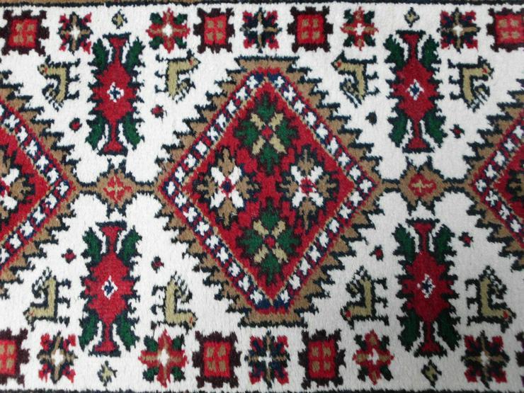 Bild 3: Heller Teppich 140 x 73 cm