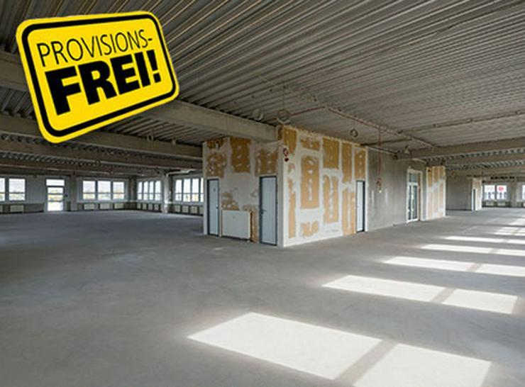 GROßE BÜROFLÄCHE ZUM AUSBAU MIT MODERNEN SANITÄRANLAGEN AB 4,95 EUR/m² - Gewerbeimmobilie mieten - Bild 1