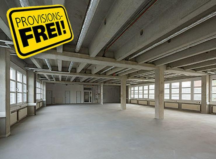 BÜROABTEILUNG ZUM AUSBAU MIT DACHTERRASSE AB 4,95 EUR/m² - Gewerbeimmobilie mieten - Bild 1
