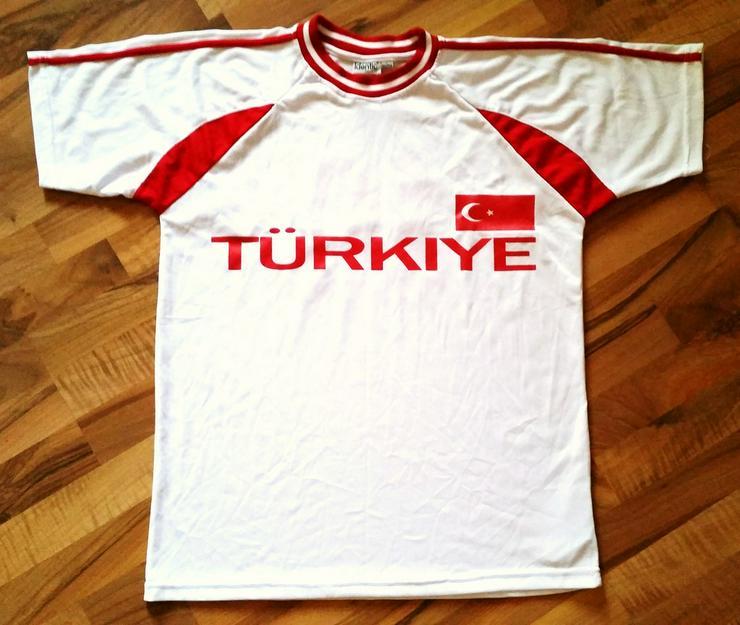 Neues Weiß-Rotes Türkei Trikot in Größe XL