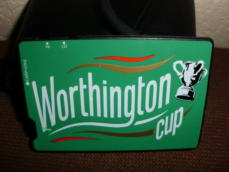 AM Card Receiver -Worthington Cup-