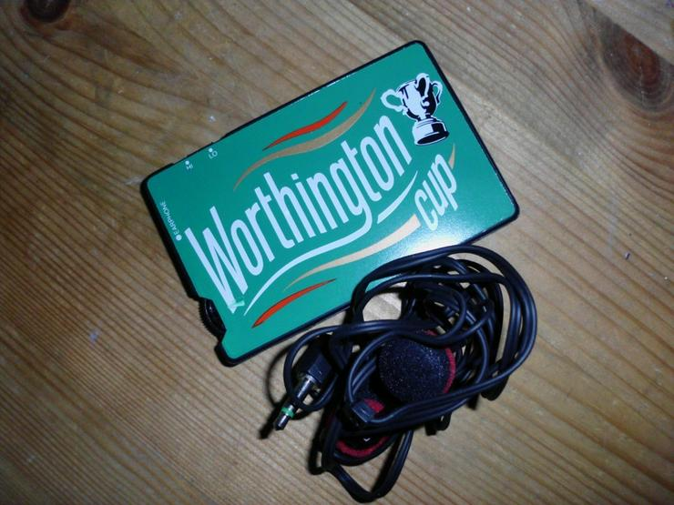 Bild 2: AM Card Receiver -Worthington Cup-