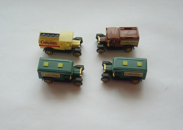 4 Mini Autos - Spielwaren - Bild 1