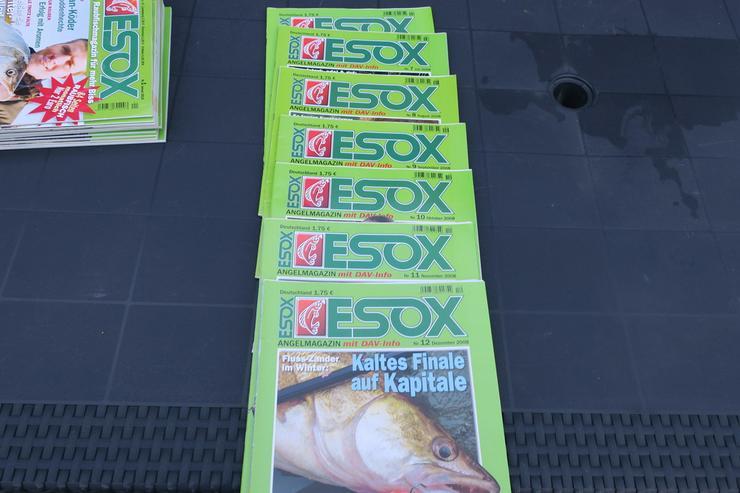 ESOX  Zeitschriften Hefte,Angeln,verkaufen