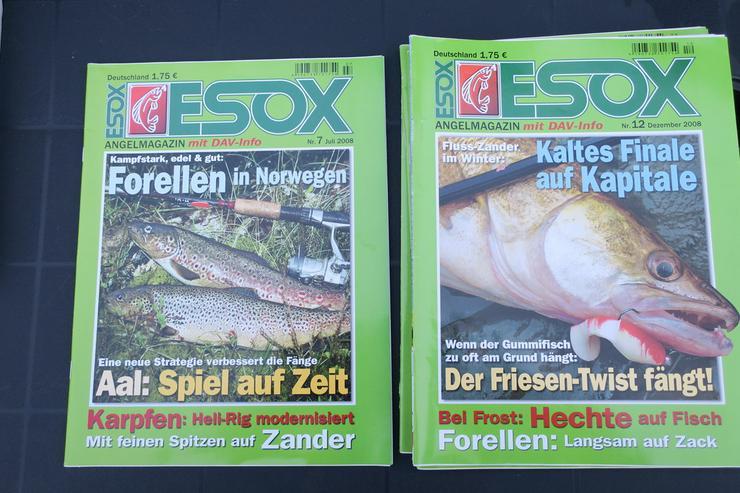 Bild 2: ESOX  Zeitschriften Hefte,Angeln,verkaufen