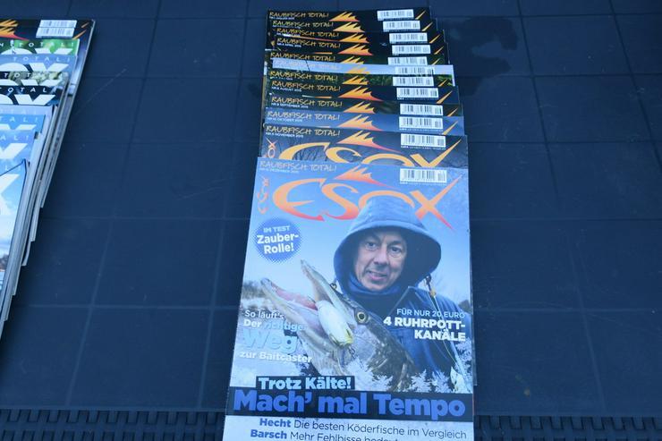 Bild 6: ESOX  Zeitschriften Hefte,Angeln,verkaufen