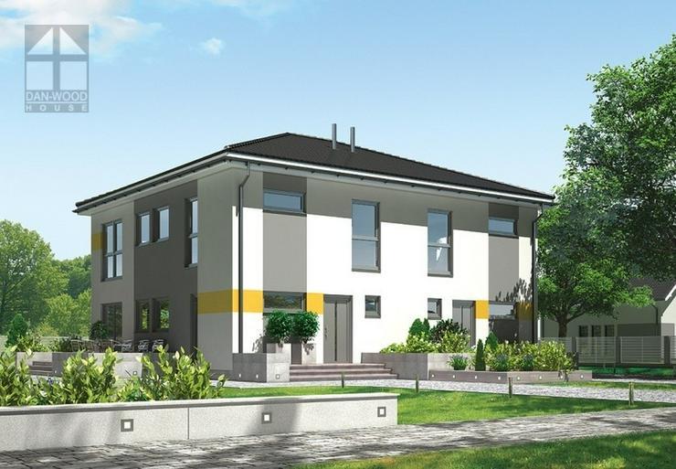 Fertighaus Doppelhaus Top! bezugsfertig