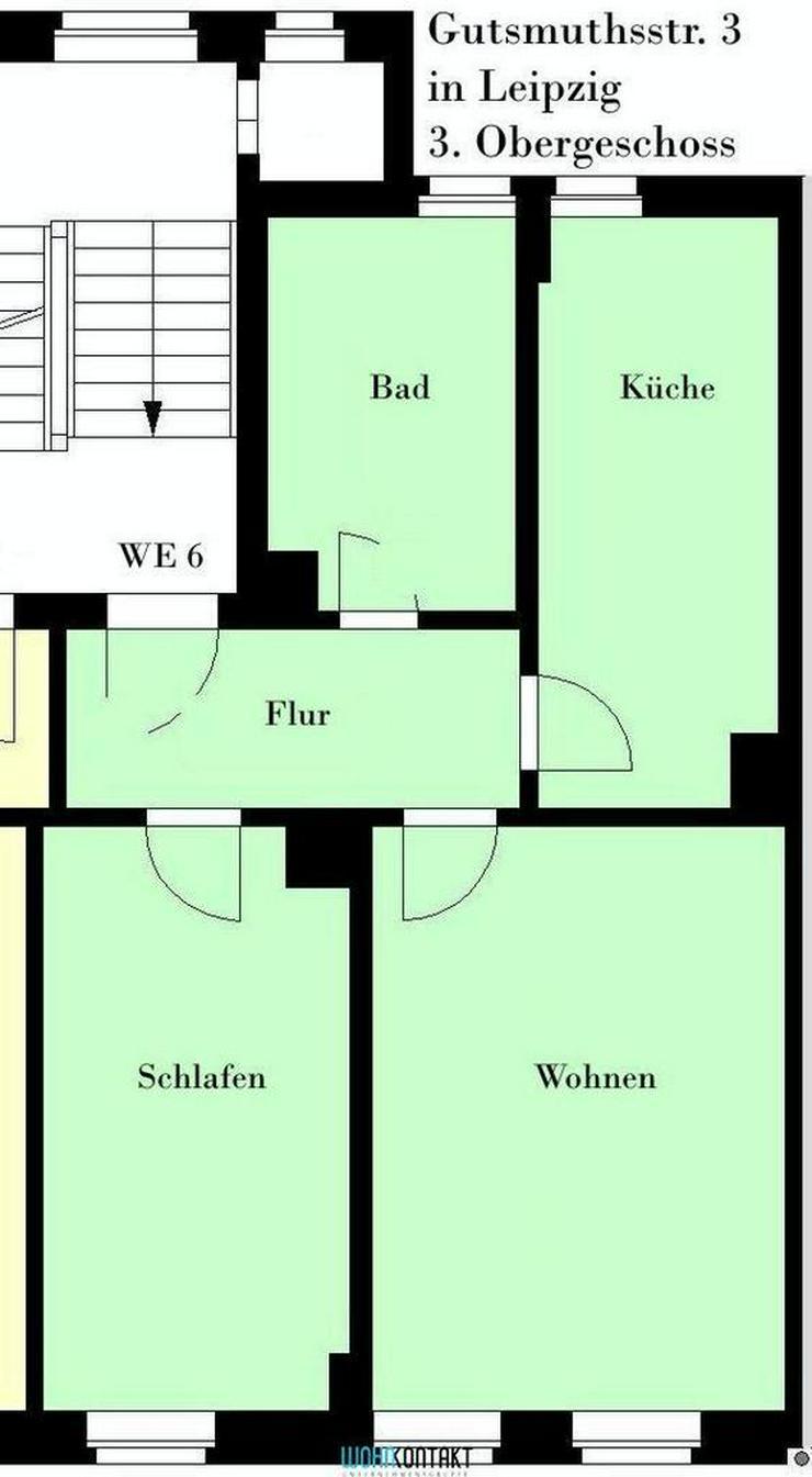 Bild 2: * Gut geschnittene 2-Zimmer-Wohnung in zentrumsnaher Stadtlage *