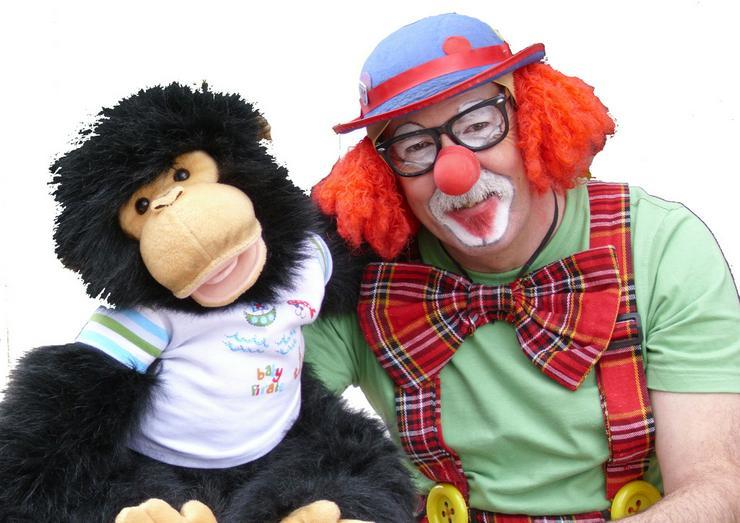 Spaß und Unterhaltung mit Clown Klecks